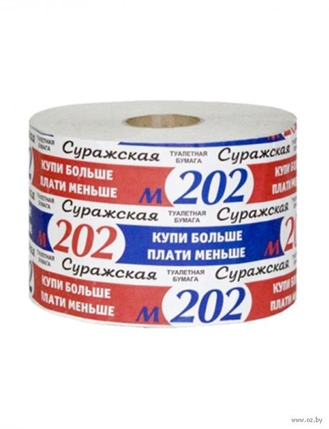 """Туалетная бумага """"М-202"""" (1 рулон) — фото, картинка"""