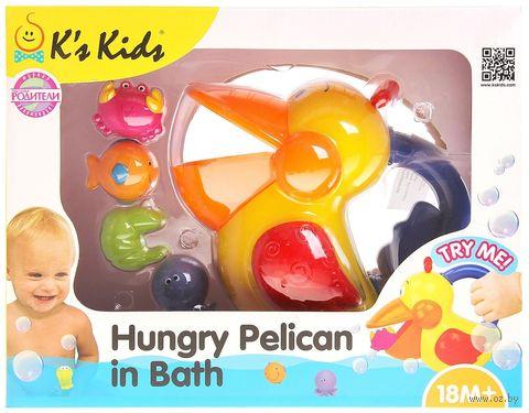 """Игрушка для купания """"Голодный пеликан"""" — фото, картинка"""