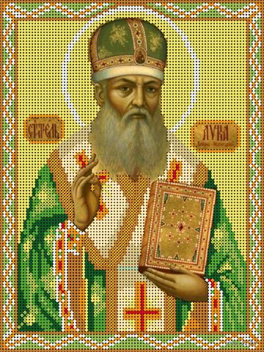"""Канва с нанесенным рисунком """"Святитель Лука"""""""