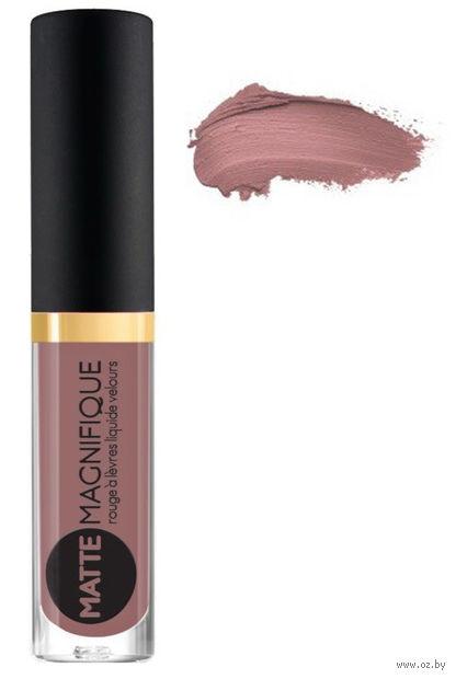 """Помада для губ """"Matte Magnifique"""" тон: 218, пыльно-розовый — фото, картинка"""