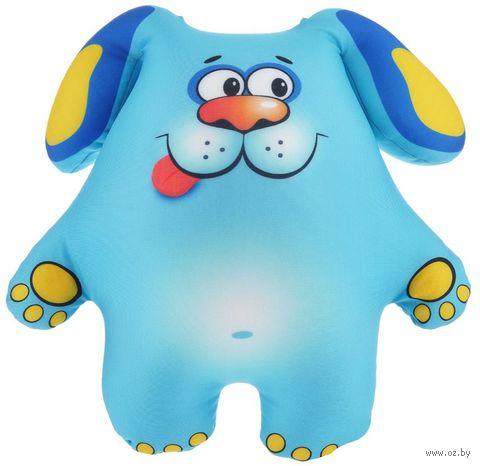 "Игрушка-антистресс ""Щенок"" (31 см; голубой) — фото, картинка"