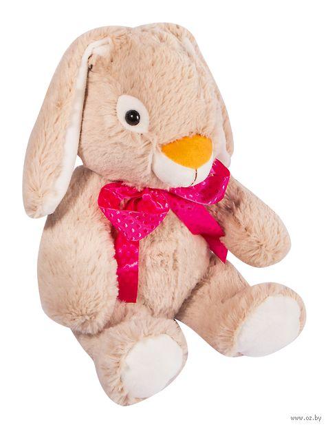 "Мягкая игрушка ""Заяц Мартин"" (34 см; бежевый) — фото, картинка"