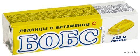 """Леденцы """"Бобс. Мед и лимон"""" (35 г) — фото, картинка"""