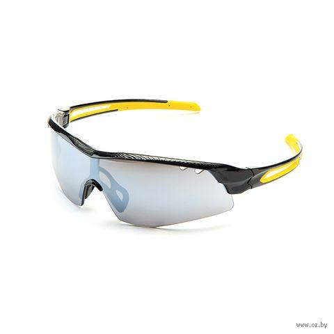 """Очки солнцезащитные """"S-15002-G"""" (чёрные) — фото, картинка"""