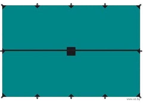 Тент (4x6 м; зелёный) — фото, картинка