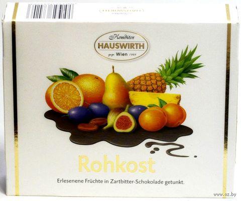 """Конфеты """"Hauswirth. Ассорти из фруктов в шоколаде"""" (180 г) — фото, картинка"""