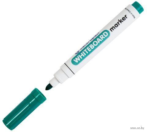 Маркер для белой доски (цвет чернил: зеленый; 2,5 мм)