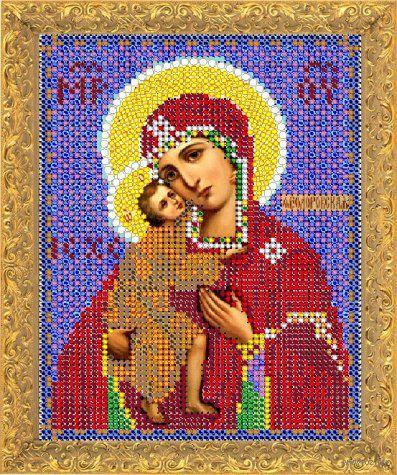 """Вышивка бисером """"Пресвятая Богородица Феодоровская"""" (арт. 8403М)"""
