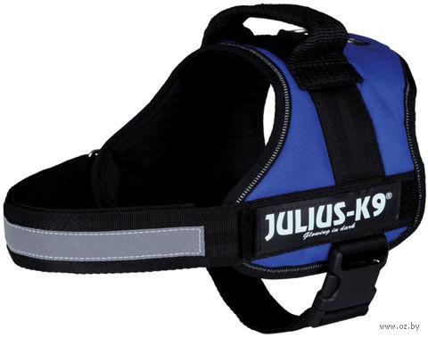 """Шлея тренировочная """"Julius-K9"""" (58-76 см; синяя) — фото, картинка"""