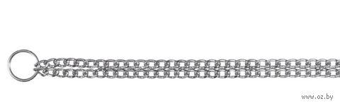 """Ошейник-цепочка двойной для собак """"TRIXIE"""" (45 см, арт. 2236)"""