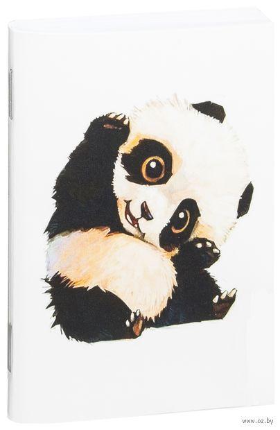 """Блокнот белый """"Панда"""" А7 (509)"""