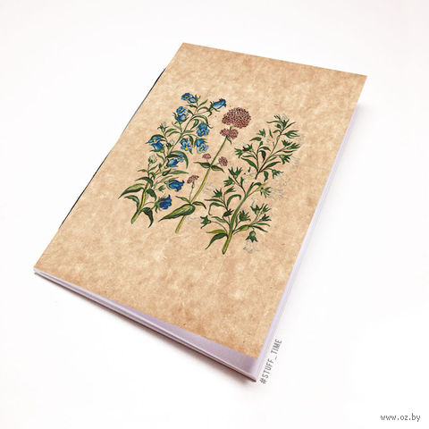 "Блокнот крафт ""Полевые цветы"" (А5; арт. 772)"