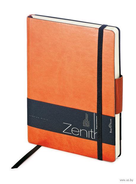 """Ежедневник недатированный """"Zenith"""" (B6; оранжевый) — фото, картинка"""