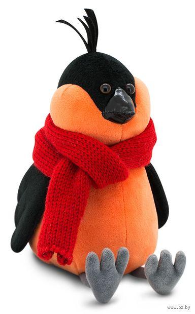 """Мягкая игрушка """"Cнегирь. Красный шарф"""" (20 см) — фото, картинка"""