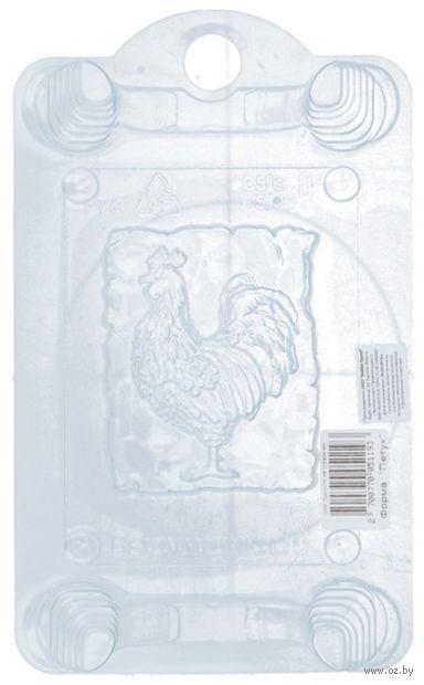 """Форма для изготовления мыла """"Петух"""" — фото, картинка"""