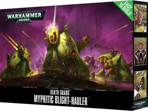 Warhammer 40.000. Death Guard. Myphitic Blight-hauler. Easy to Build (43-56) — фото, картинка