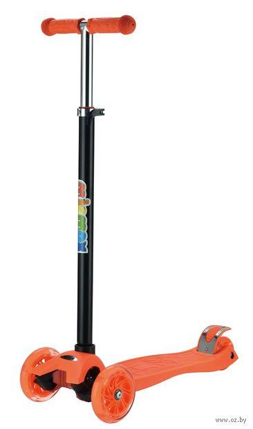 "Самокат трёхколёсный ""MicMax"" (оранжевый; арт. MG03-OR) — фото, картинка"