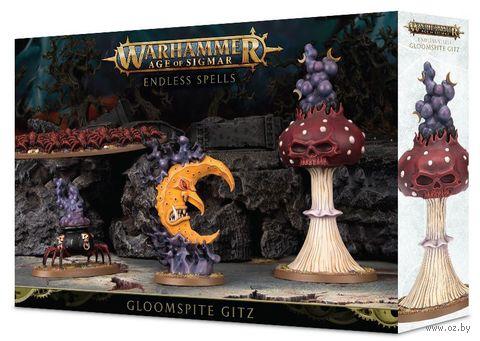 Warhammer Age of Sigmar. Gloomspite Gitz. Endless Spells (89-38) — фото, картинка