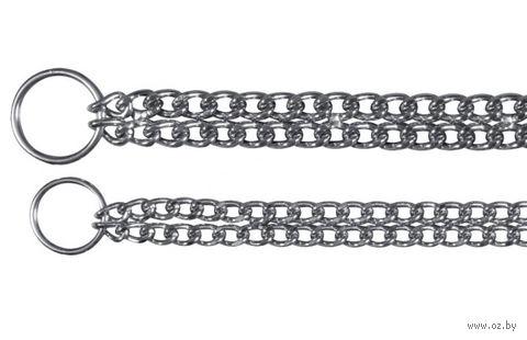 """Ошейник-цепочка двойной для собак """"TRIXIE"""" (60 см)"""