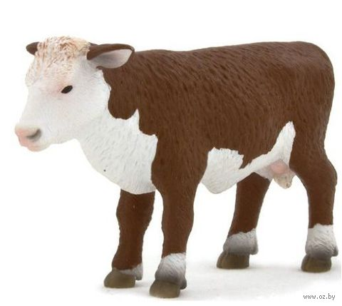 "Фигурка ""Animal Planet: Герефордский теленок стоит"""