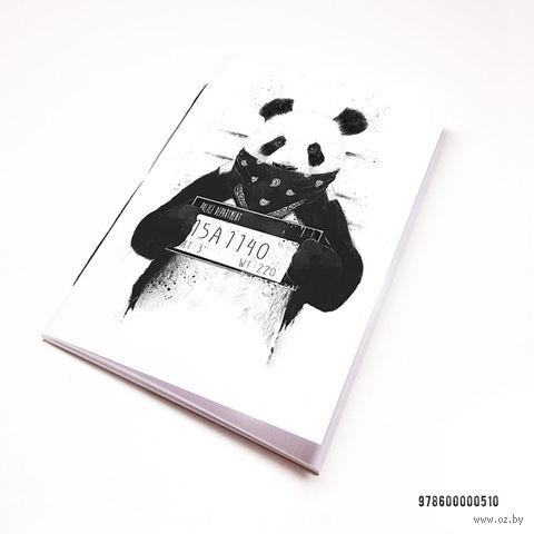 """Блокнот белый """"Панда"""" А7 (510)"""
