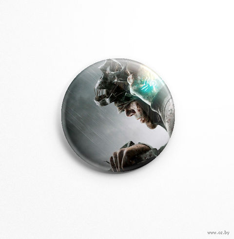 """Значок маленький """"Dishonored"""" (арт. 755) — фото, картинка"""