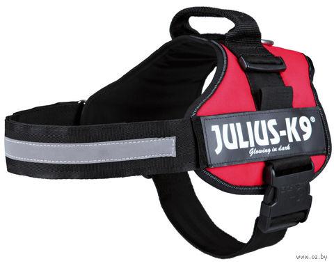 """Шлея тренировочная """"Julius-K9"""" (71-96 см; красная) — фото, картинка"""