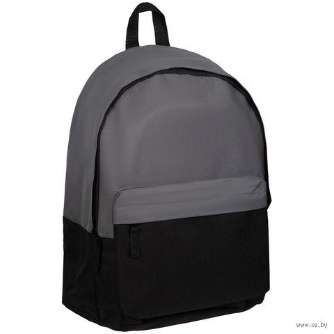 """Рюкзак """"Street"""" (серо-чёрный) — фото, картинка"""