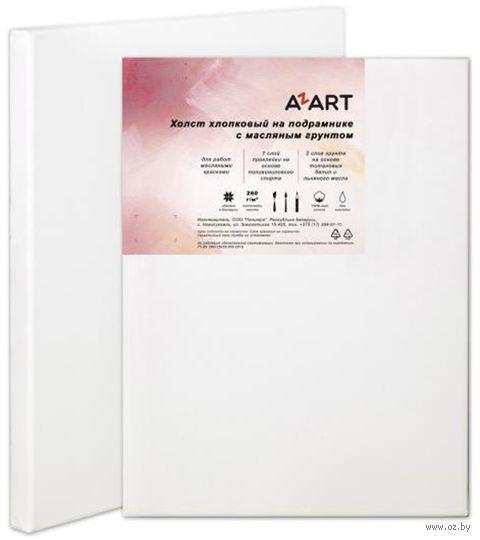"Холст на подрамнике ""AZART"" (70х70 см; масляный грунт; арт. AZ027070) — фото, картинка"