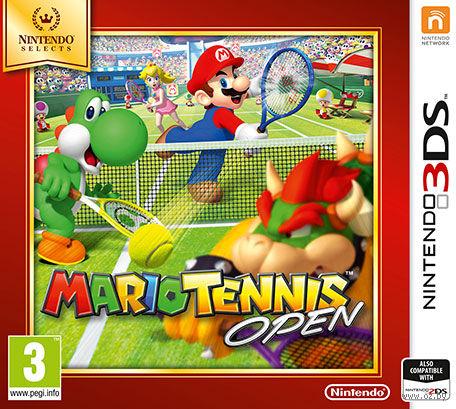 Mario Tennis Open - Nintndo selects (Nintendo 3DS)
