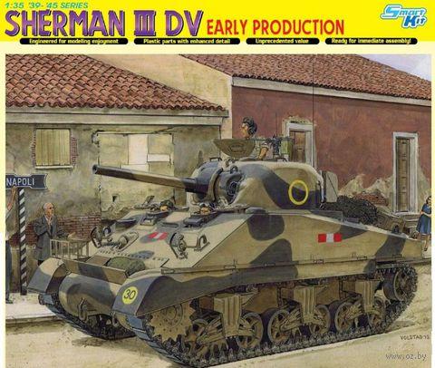 """Средний танк """"Sherman III DV, Early Production"""" (масштаб: 1/35) — фото, картинка"""