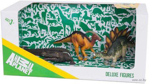 """Набор фигурок """"Animal Planet: Динозавры 3"""" (3 шт)"""