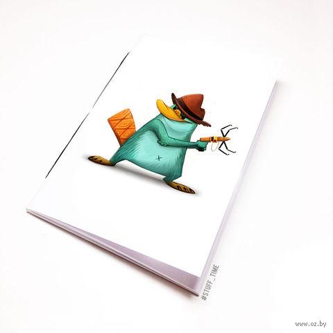 "Блокнот ""Финес и Ферб. Перри"" (А5; арт. 960) — фото, картинка"
