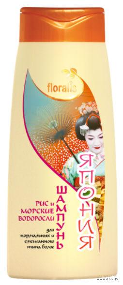 """Шампунь для волос """"Рис и Морские водоросли. Япония"""" (500 мл)"""