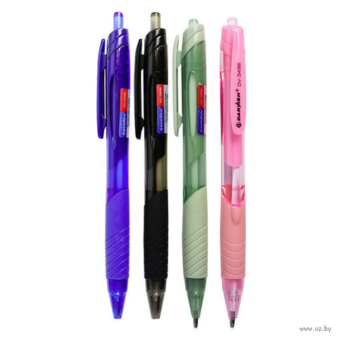 """Ручка шариковая синяя """"Darvish"""" (0,7 мм; арт. DV-3496; в ассортименте) — фото, картинка"""