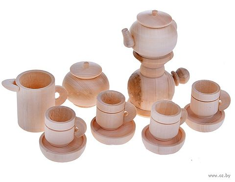 """Набор детской посуды """"Чайный сервиз с самоваром"""" — фото, картинка"""