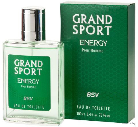 "Туалетная вода для мужчин ""Grand Sport Energy"" (100 мл) — фото, картинка"