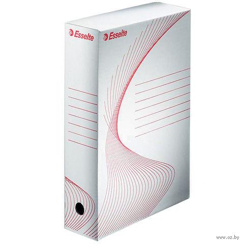 Коробка архивная Esselte (белая, 200 мм)