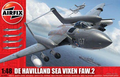 """Истребитель """"De Havilland Sea Vixen FAW.2"""" (масштаб: 1/48) — фото, картинка"""