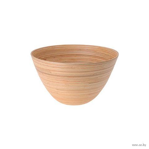 Салатник бамбуковый (25х15 см)