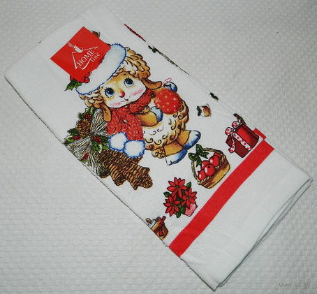 Полотенце кухонное текстильное (38*63,5 см, арт. SL7330034)