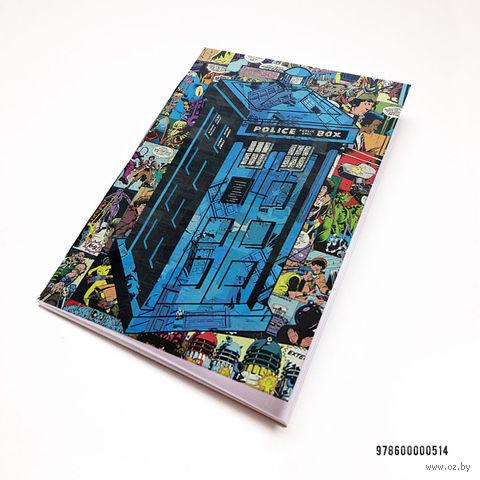 """Блокнот """"Доктор Кто. Тардис"""" (А7; арт. 514)"""