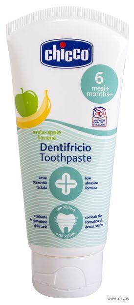 """Зубная паста детская """"Chicco. Яблоко и банан"""" (50 мл) — фото, картинка"""