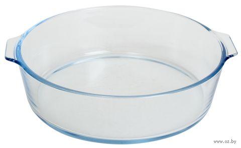 Форма для запекания стеклянная (230х210х60 мм) — фото, картинка