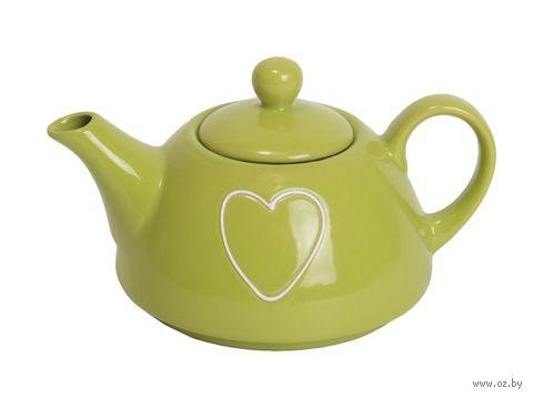 """Чайник заварочный """"Мамина сказка"""" (0,4 л; зеленый) — фото, картинка"""