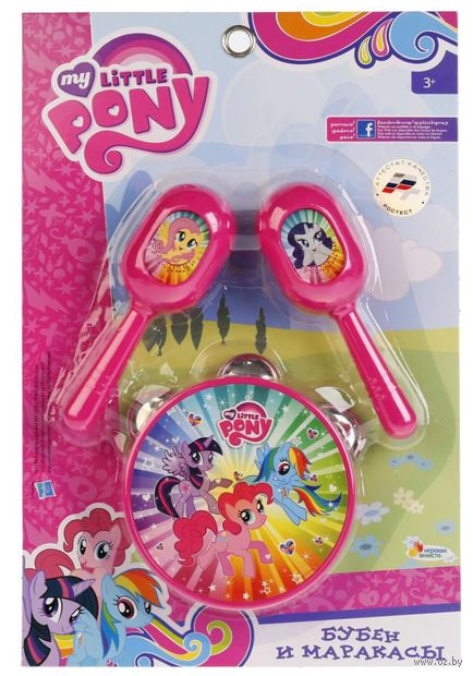 """Набор музыкальных инструментов """"My Little Pony"""" (арт. B607108-R1) — фото, картинка"""