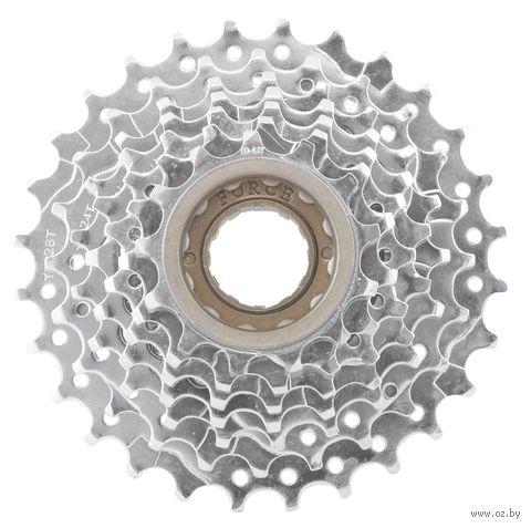 Трещотка для велосипеда (7 скоростей; звёзды 13-28) — фото, картинка