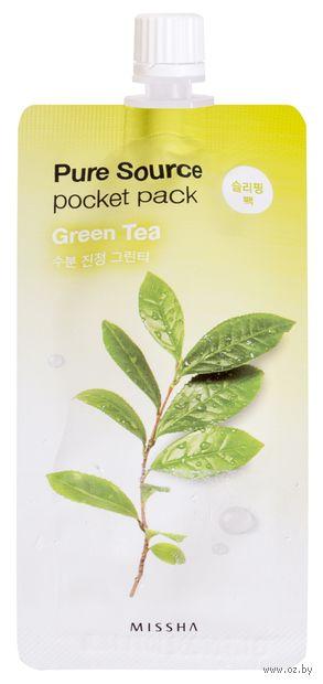 "Ночная маска для лица ""Green Tea"" (10 мл) — фото, картинка"