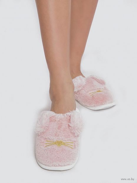 "Тапочки женские ""JY19W01"" (40 размер; розовые) — фото, картинка"