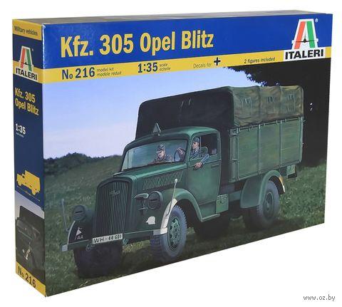 "Грузовой автомобиль ""Kfz.305 Opel Blitz"" (масштаб: 1/35) — фото, картинка"